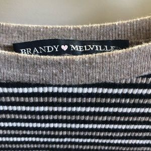 Brandy Melville Tops - Brandy Melville Santana Top (Striped)
